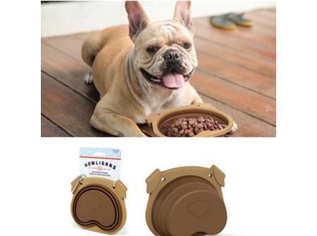 Howlingans Collapsible Dog Bowl