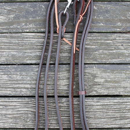 HP Double Ply Western Split Reins