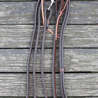 HP Double Ply Western Split Reins