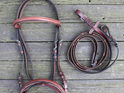 HP English Snaffle Bridle with Reins