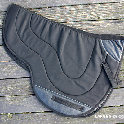 HP Half Breed Non-slip Saddle Pad