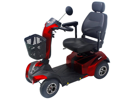 HS 520 Mid Range Mobility Scooter About Town Model