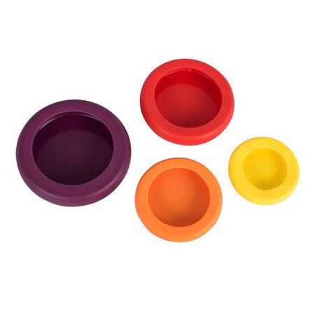 Hugger Food Saver - Assorted Colours - Set of 4