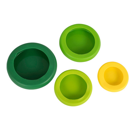 Hugger Food Saver - Green Multi - Set of 4