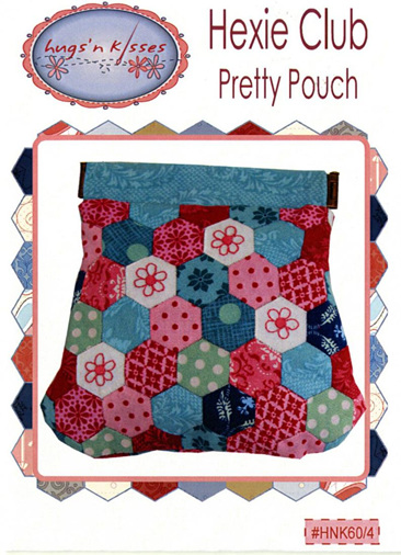 Hugs'n Kisses Hexie Club Pretty Pouch