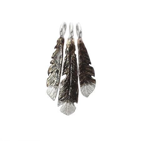 Huia Feathers Charm Set