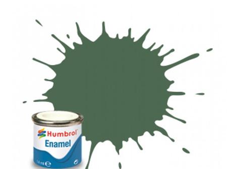 Humbrol Enamel Paint H076 Uniform Green
