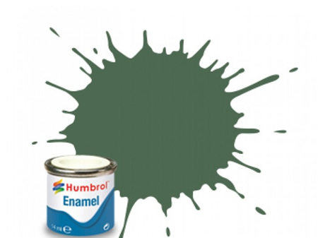 Humbrol Enamel Paint H076 Uniform Green