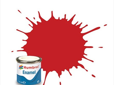 Humbrol Enamel Paint H220 Ferrari Red Gloss