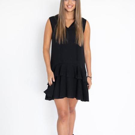 HUMIDIITY ISABELLA DRESS IN BLACK