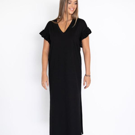 HUMIDITY SANTORINI DRESS IN BLACK