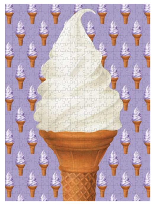 Hummingbird 1000 Piece Jigsaw Puzzle: Ice Cream buy at www.puzzlesnz.co.nz