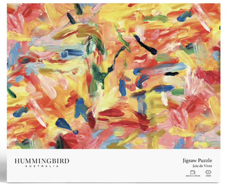 Hummingbird 1000 Piece Jigsaw Puzzle: Joie de Vivre