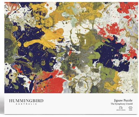 Hummingbird 1000 Piece Jigsaw Puzzle: Symphony Untold