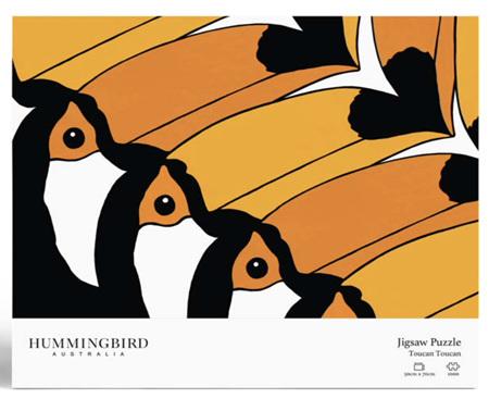 Hummingbird 1000 Piece Jigsaw Puzzle: Toucan Toucan