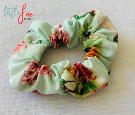 Hummingbird & Butterfly Scrunchie