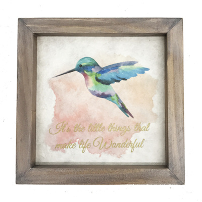 Hummingbird quote picture