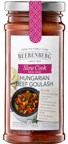 Hungarian Beef Goulash Slow Cooker Sauce - 240ml