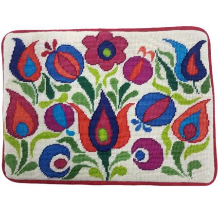 Hungarian Rhapsody Needlepoint Cushion Kit by Mary Self