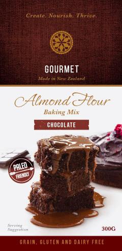 Hunter Gatherer Gourmet Almond Flour Baking Mix - Chocolate