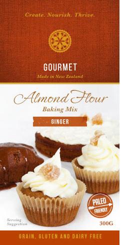 Hunter Gatherer Gourmet Almond Flour Baking Mix  - Ginger