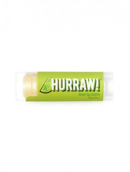 Hurraw Lip Balm Lime 4.3g