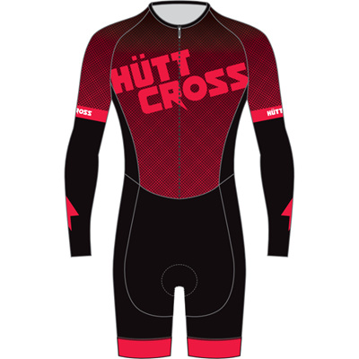 Huttcross Speedsuit - Riverstone Red