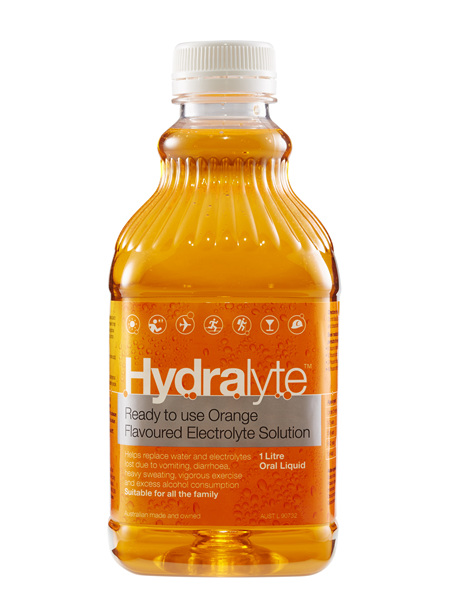Hydralyte Drink Sol Orange 1 L
