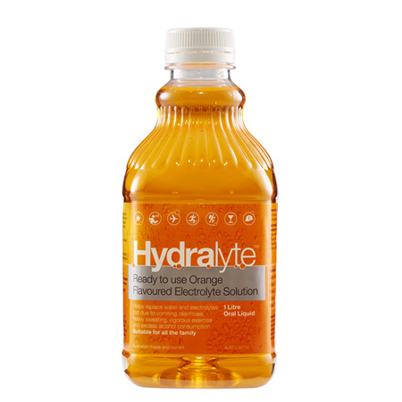 Hydralyte Drink Sol Orange 1 L