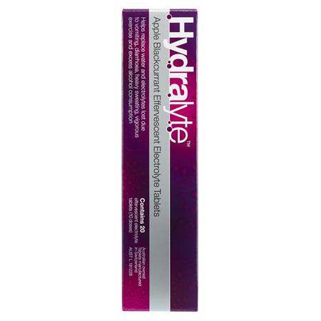 Hydralyte Efferves. Apple/Blckcurrant 20