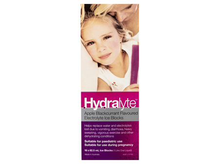 Hydralyte Ice Blocks Apple Blackcurrant