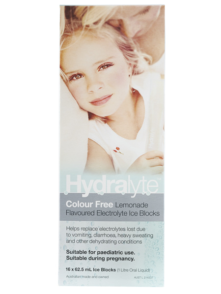 Hydralyte Ice Blocks (Cf) Lemonade 16