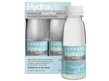 Hydralyte Lemonade ready to use (4x 250mls)