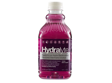 Hydralyte Liq Apple Blkcurrant 1L