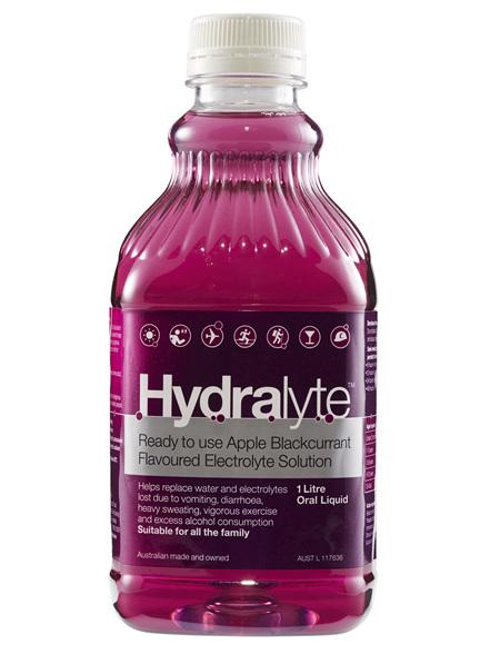 Hydralyte Liq Apple Blkcurrant 1L