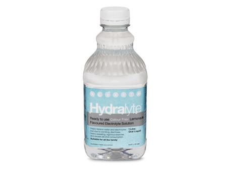 Hydralyte Liq Lemonade (Cf) 4 X 250 ml