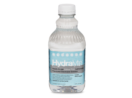 Hydralyte Liq Lemonade (Cf) 4 X 250 ml
