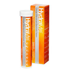 Hydralyte Orange effervescent tabs (10 doses)