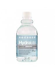 Hydralyte Ready to use Colour Free Lemonade Flavoured Electrolyte Solution 1L