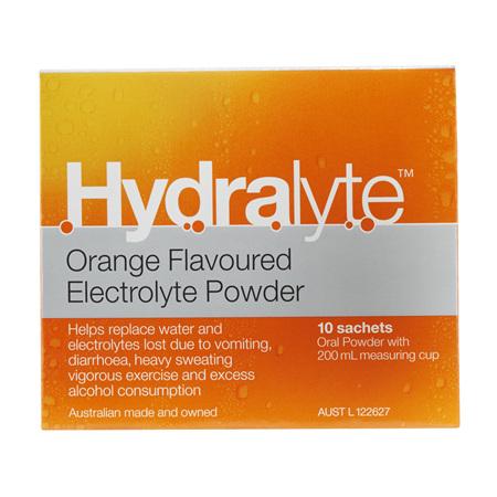 Hydralyte Sachet Orange 10