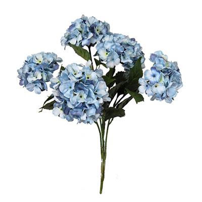 Hydrangea Bunch 1878 Blue