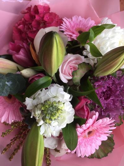 hydrangea in bouquet