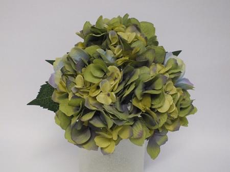 Hydrangea Posy  Green Lavender 4485