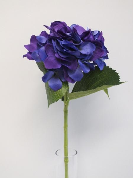 Hydrangea Stem Violet Mauve 1989