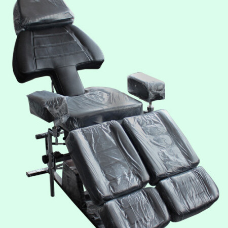 Hydraulic Massage Tattoo Bed (Black Colour)