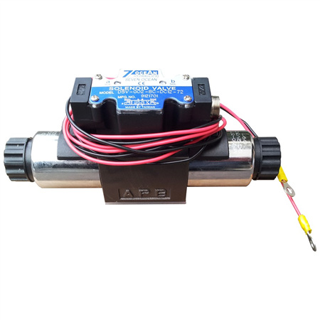 Hydraulic Winch Cetop Solenoid Valve
