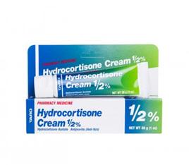 Hydrocortisone Cream 0.5% 30g