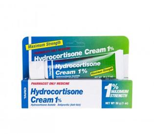 Hydrocortisone Cream 1% 30g