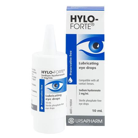 HYLO-FORTE 0.2% EYE-DROP 10ML