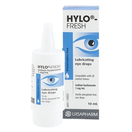HYLO-FRESH 0.1% EYE-DROP 10ML